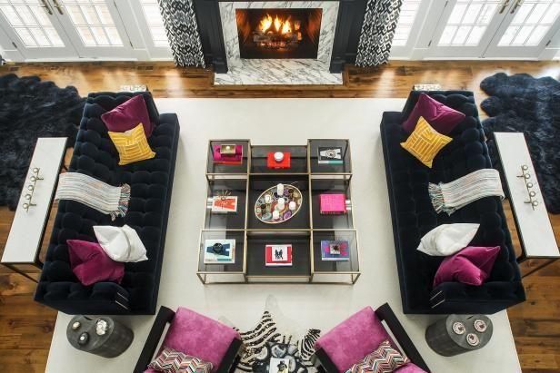Design Ideas For Modern Living Rooms Hgtv In 2021 Living Room Designs Living Room Lighting Design Living Room Design Modern