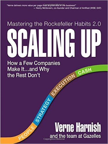 91 best books images on pinterest book corners book nerd and joel grabbed scaling up how a few companies make itd why the rest dont rockefeller habits ebook verne harnish kindle store fandeluxe Gallery