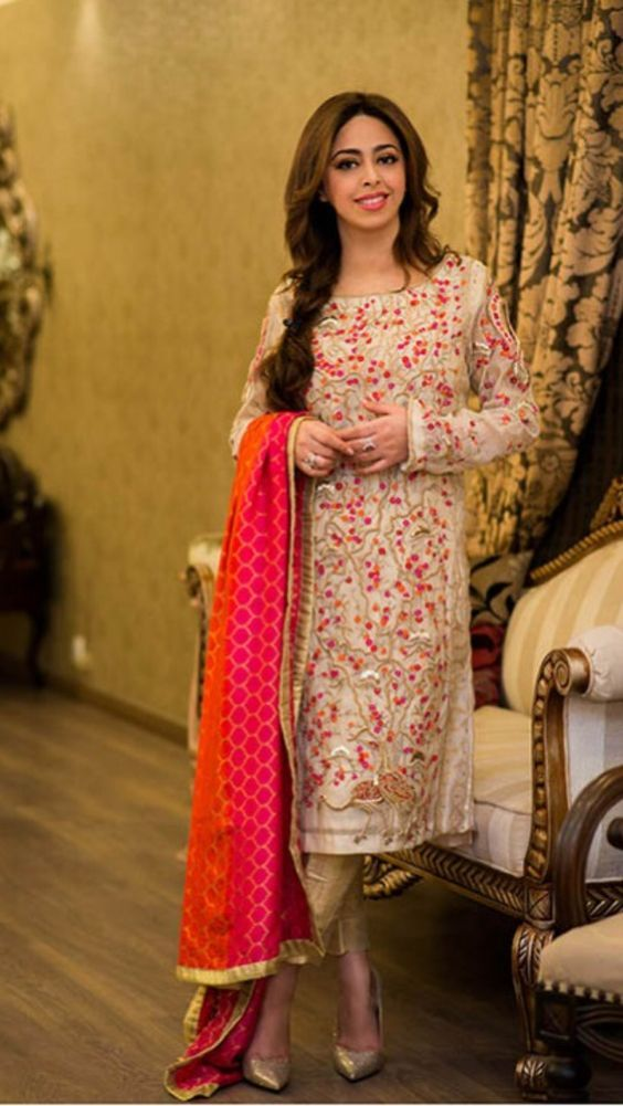 Latest Party Wear Embroidered Shirts 2018-2019 Designs ...