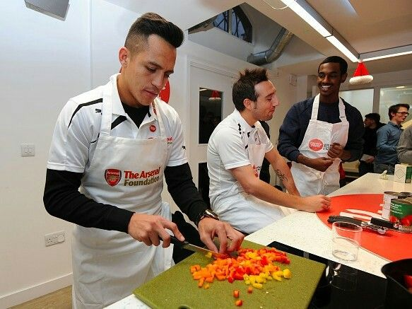 #Sanchez #Cazorla #Arsenal #Foundation