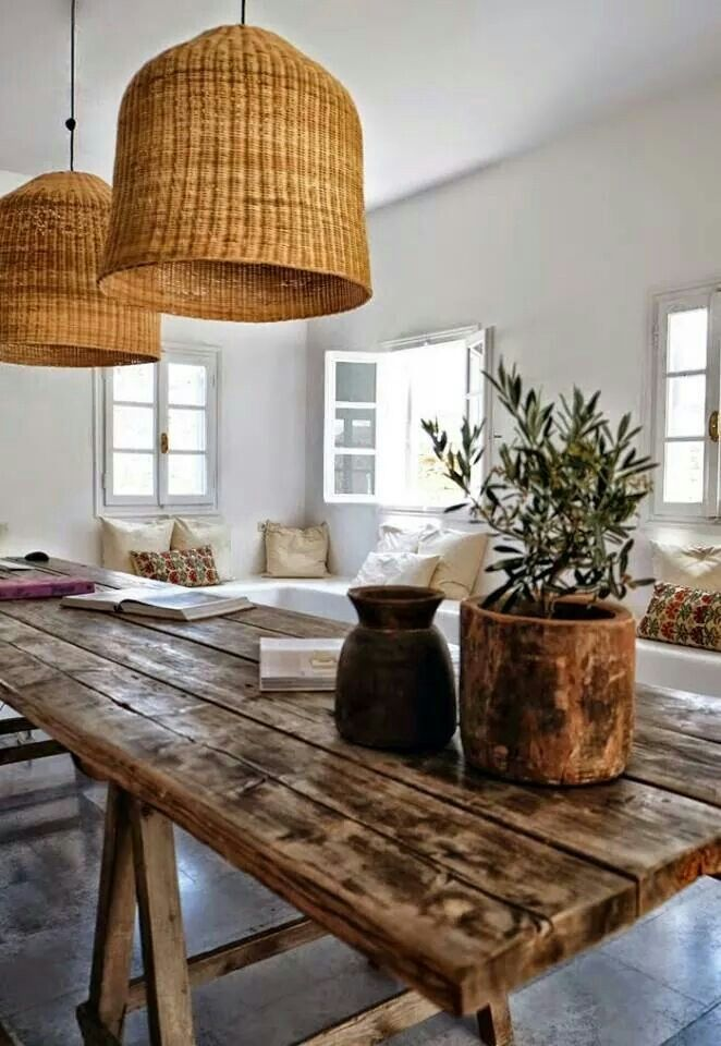 Lamps & Table & Sofas