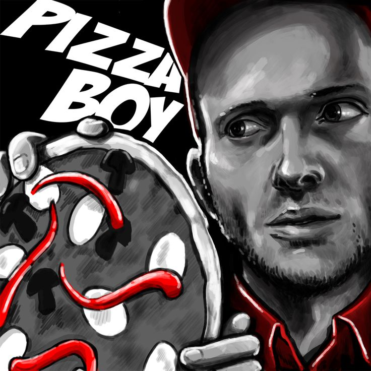 pizza boy banner