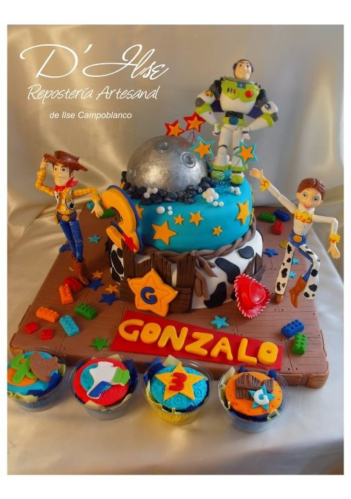 TORTAS DECORADAS INFANTILES - De niños: Sweet Desserts, Photo