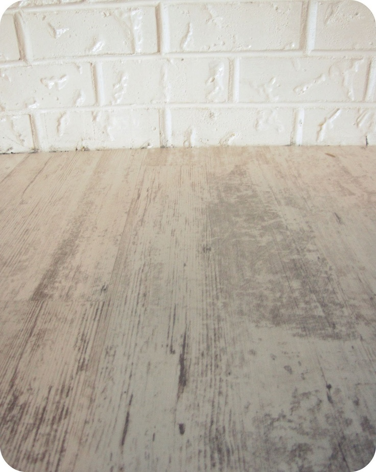 Distressed White Washed Look Laminate Flooring Basement
