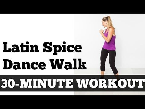 30-Minute Latin Spice Walk | Walking, Exercise, Fitness, Dance, Home Workout - YouTube