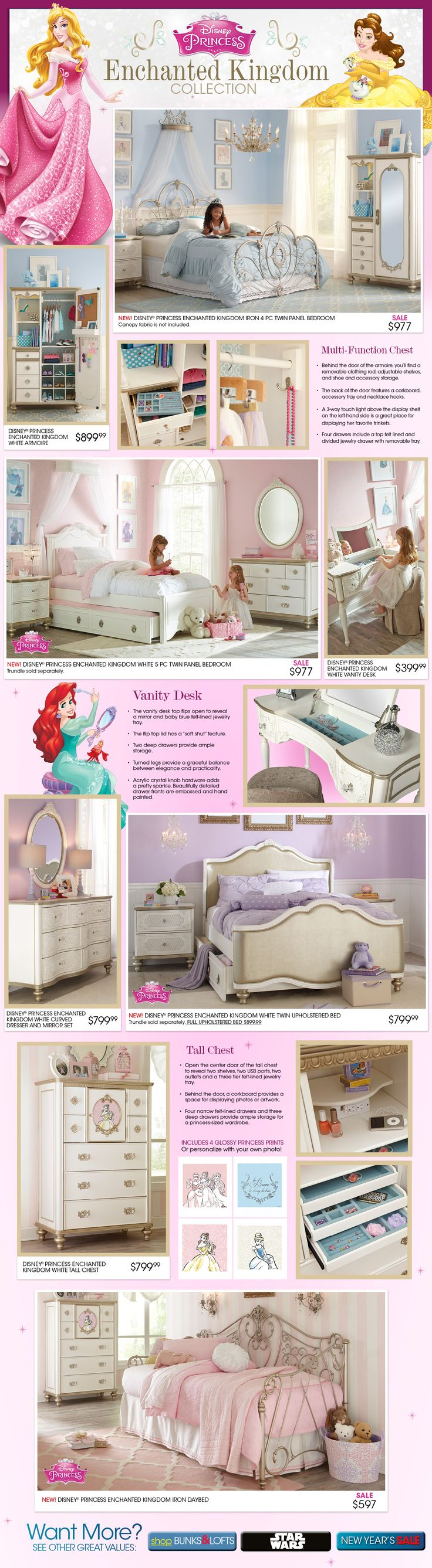 Bedroom Decor On. Princess BedroomsPrincess RoomKid ...