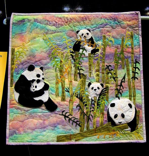 Pandas quilt by godutchbaby