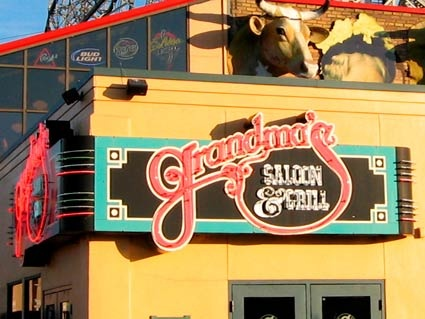 Grandma's Saloon & Grill in Duluth, MN is a great place to eat in Canal Park. The Wild Rice soup is the BEST. If you are ever in Duluth, eat here. You won't regret it.