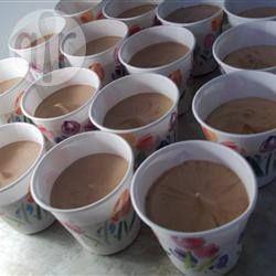 Shots de pudín con crema irlandesa @ allrecipes.com.mx