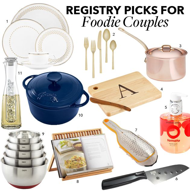 Registry Items For Foodie Couples