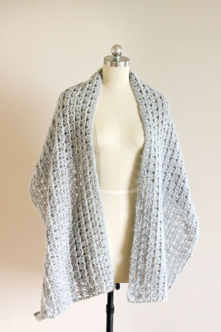 139 best crochet shawls ponchos images on pinterest patterns free crochet pattern for this beautiful shawl scarf tutorial for triangle crochet stitch included bankloansurffo Images
