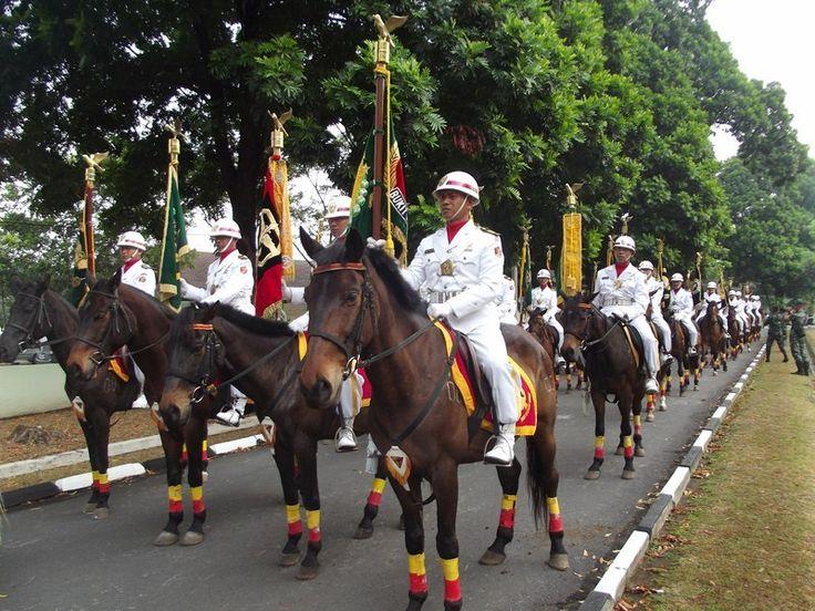 Indonesian parade DenKavKud Image result for kavaleri berkuda