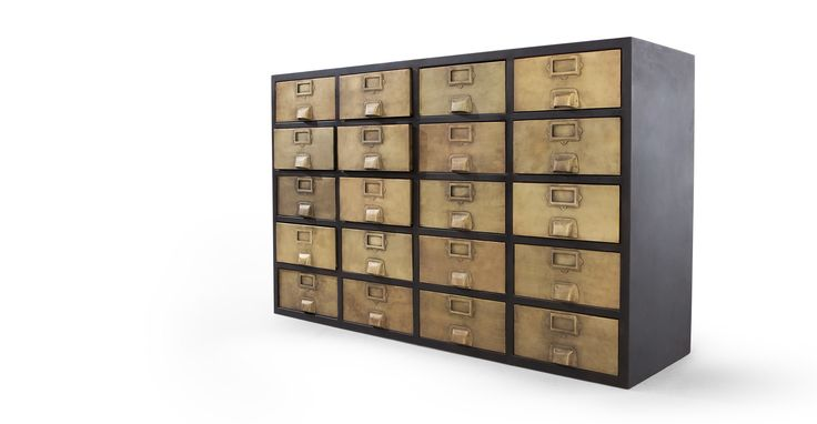 Stow Sideboard, Vintage Brass