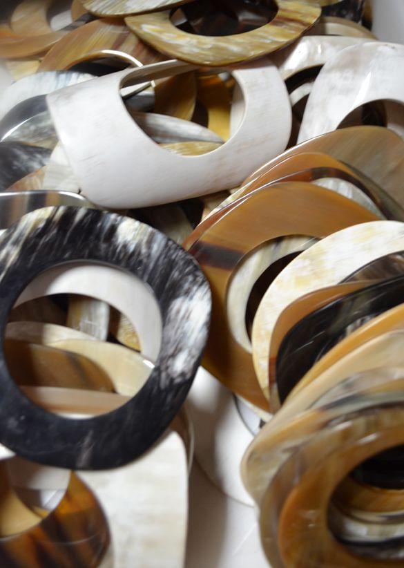 Horn bracelets  || Adele Dejak collection
