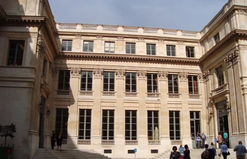 L'hôtel Noirmoutier, résidence du Préfet d'Ile de France