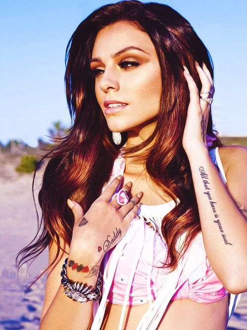 Cher lloyd- daddy tattoo Probably the only tattoo I would ever get. Placement