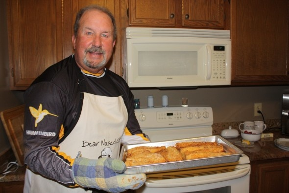 No-fry Walleye recipe: a savory ending to a long day on the water. (Image courtesy Rennee Neustrom)