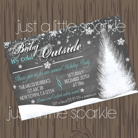 13 best christmas party invites images on pinterest christmas christmas invitation diy printable christmas invites winter wonderland winter invitations solutioingenieria Choice Image