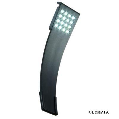 Lampa ogrodowa ścienna led Olympia Plug-Play Nowoczesny kinkiet wykonany z aluminium malowanego proszkowo na kolor grafitowy. Źródłem jest energooszczędny moduł led o zimnej barwie światła. Do kompletu występuje lampa stojąca o nazwie Olympus.  System Plug-Play umożliwia połączenie całego szeregu lamp za pomocą wodoszczelnych przewodów i złączy , które można zakopać w ziemi ( zobacz zdjęcie w galerii oraz produkty pasujące ) $35