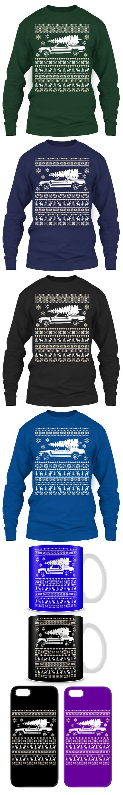 Ford Mustang Ugly Christmas Sweater! Click The Image To Buy It Now or Tag Someone You Want To Buy This For.