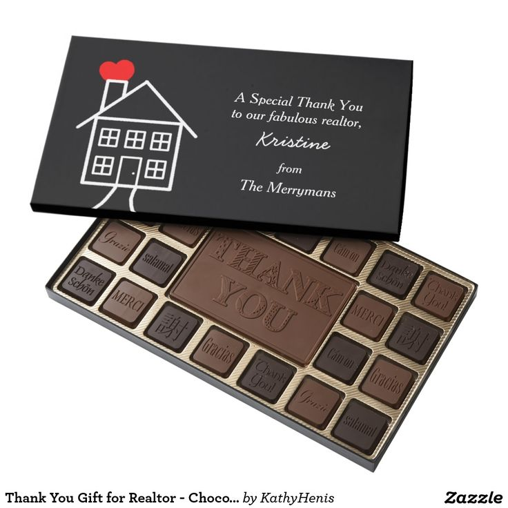 Thank You Gift for Realtor - Chocolate Box 45 Piece Box Of Chocolates