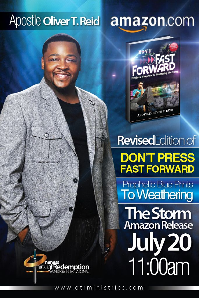 "Book on Amazon ""Don't Press Fast Forward"" - For OTR Ministries"