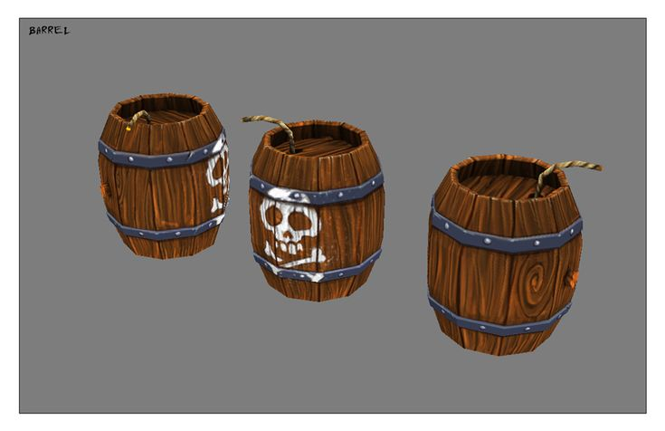 Barrel by ~Sephiroth-Art on deviantART (Sephiroth-Art, 2010)