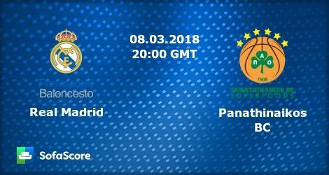 ΡΕΑΛ ΜΑΔΡΙΤΗΣ - ΠΑΝΑΘΗΝΑΪΚΟΣ  Real Madrid-Panathinaikos  live streaming