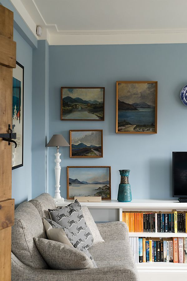 Parma Gray No 27 1 Gallon Light Blue Living Room Blue Walls Living Room Farrow And Ball Living Room