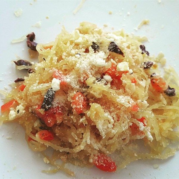 "Spaghetti Squash I   ""This was by far the best spaghetti squash recipe I have ever tasted!!"""