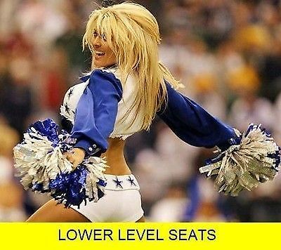 #tickets 2017 Dallas Cowboys Season Tickets (2) LOWER LEVEL Sec 145 All 10 Home Games A++ please retweet