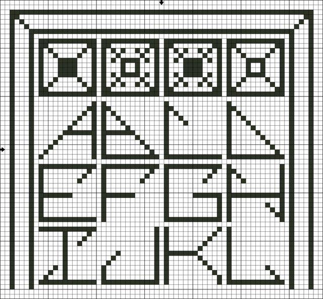 17 best images about free alphabet cross stitch patterns for Cross stitch patterns free printable