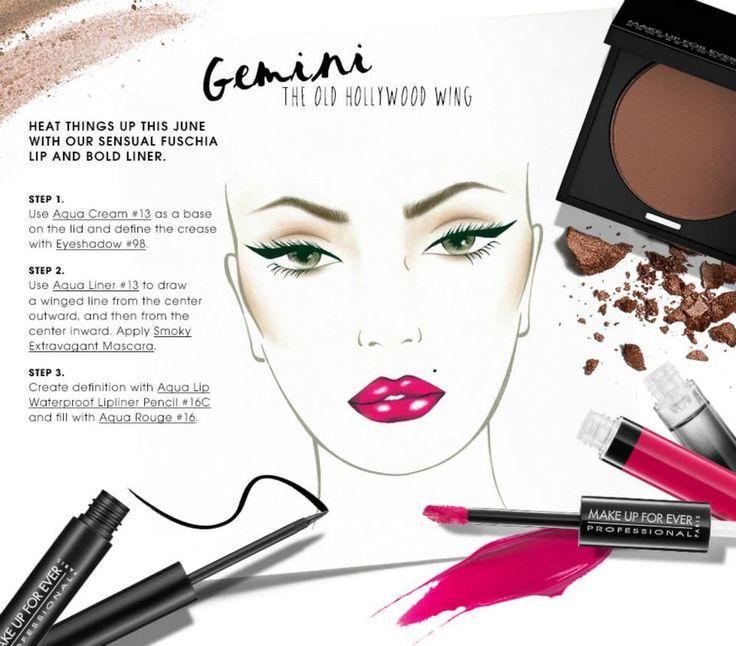 make up forever tutorial per segno zodiacale