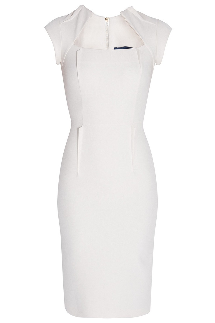 Wing Collar Dress By SAFIYAA @ http://www.boutique1.com/