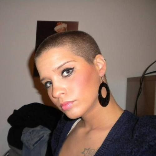 ... images about Crop on Pinterest | Buzz Cuts, Shaved Heads and Jessie J