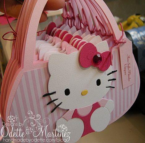 Ideas invitaciones Hello Kitty caseras