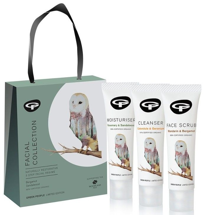 The Style Nest Green People Facial Collection Gift Set