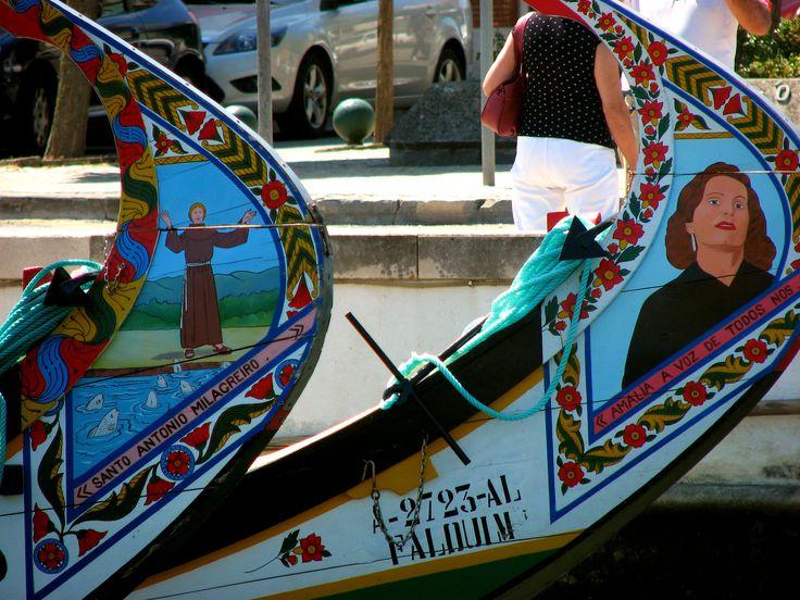 Moliceiro boat (Aveiro, Portugal)