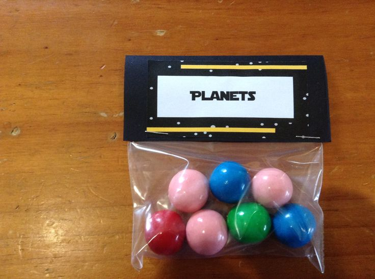 Planets - Gum balls