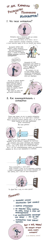 ИНФОГРАФИКА: Руководство к пониманию интровертов