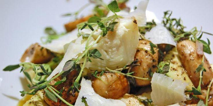 Superenkel salat til grillet fisk eller kjøtt.