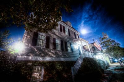 One of Savannah's most famous 'haunted' houses, the Hampton Lillibridge House