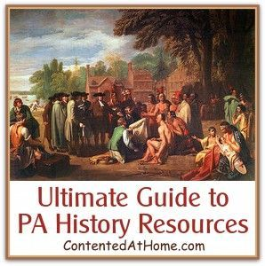 Ultimate Guide to PEnnsylvania state History Resources by Judy Hoch