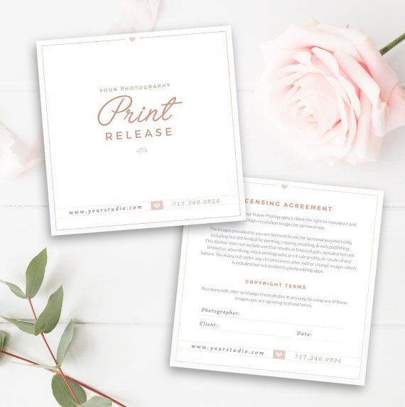 The 25+ best Print release ideas on Pinterest Model release - model release form