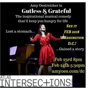 Gutless & Grateful in D.C.! Atlas Intersections Festival February 23-24 (here's a discount code!) | Amy Oestreicher