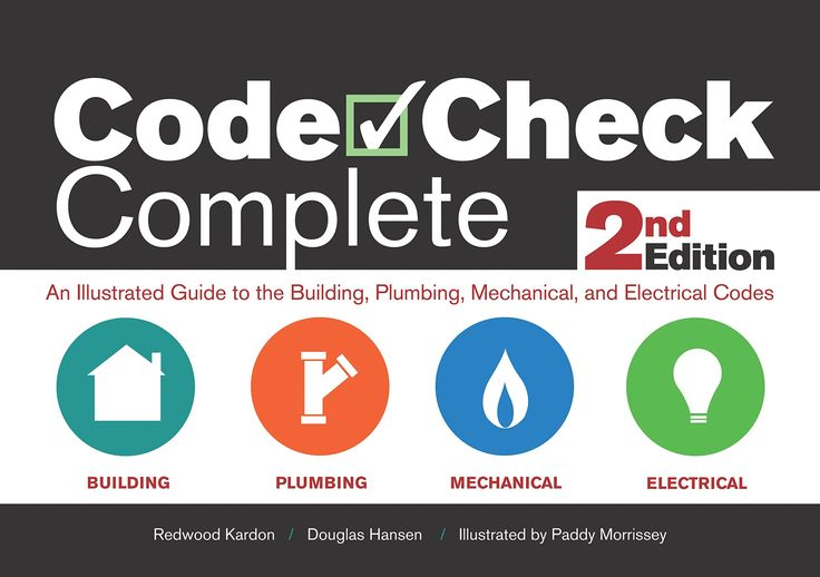 43 best codes standards books images on pinterest books online code check complete 2nd edition an illustrated guide to the building plumbing mechanical and electrical codes code check complete an illustrated guide fandeluxe Gallery