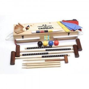 Front Lawn Croquet Set by easy days