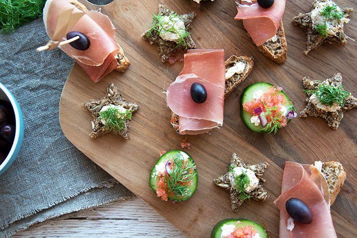 3 nemme tapas som kan tilberedes på cirka 20 minutter - med flødeost fisk og gode sager - helt enkelt og super lækkert - få opskrift her