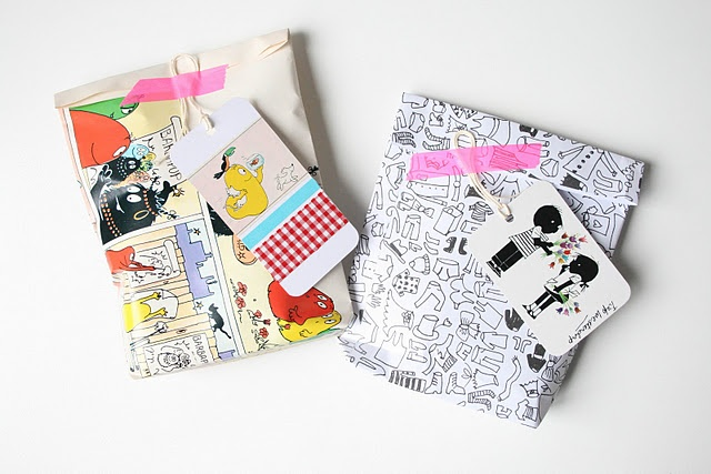 .: Inspire Packaging, Creative Wraps, Cute Packaging, Nice Packaging, Giftwrap, Gift Packaging, Art Paper, Gift Wraps, Comics Wraps