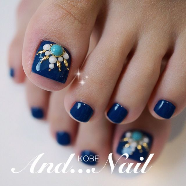 199 best Feet nails Design images on Pinterest | Belle nails, Cute ...